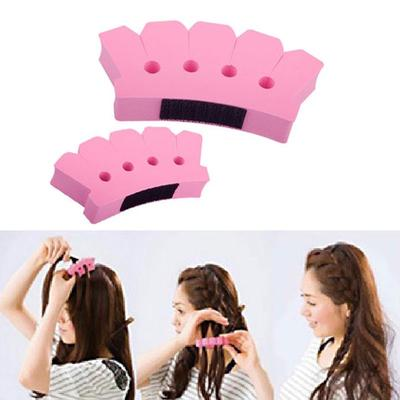 Sponge Twist Styling Hair Braider Braid Tool Holder Clip Diy French Grace Buy At A Low Prices On Joom E Commerce Platform