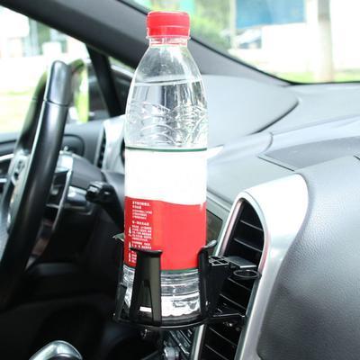 Silber Wasser Getränkehalter Rahmen Fit For Nissan X-Trail Rogue 2014-2016