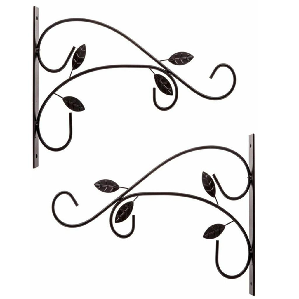 Metal Plant Hanging Bracket Hook Sturdy Wall Plant Hangers Indoor Outdoor 2 Pack Buy At A Low Prices On Joom E Commerce Platform