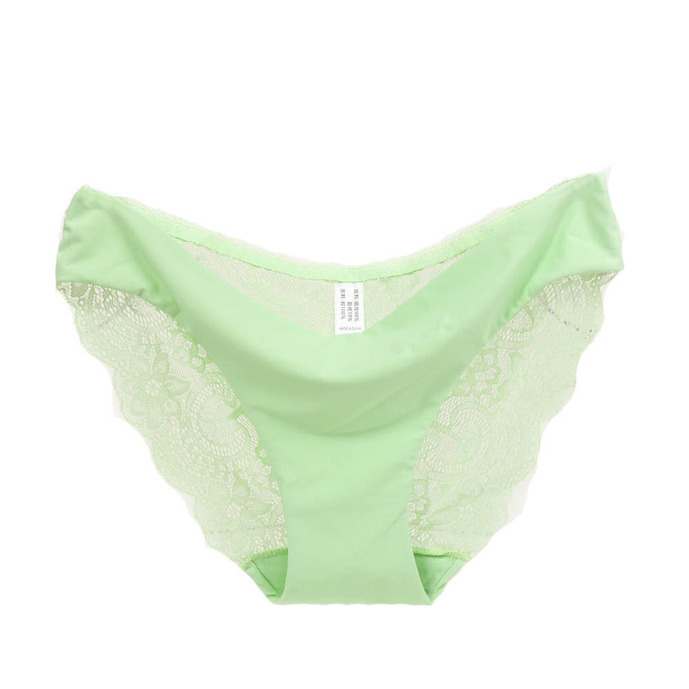 b4280be1948c Fantassy Women Lace Seamless Panties Hollow Briefs Cotton Underwear Light  Green-buy at a low prices on Joom e-commerce platform