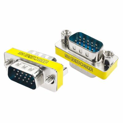1pc DB15 15pin Serial Cable Gender Changer Coupler Adapter