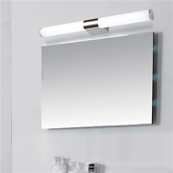 LED Bath Mirror Light Modern Minimalist Bathroom Mirror Lamp Bathroom Cabinet Vanity Mirror Headlight White Light//Warm Light Switchable 360 ??/° Rotating Lamp Head