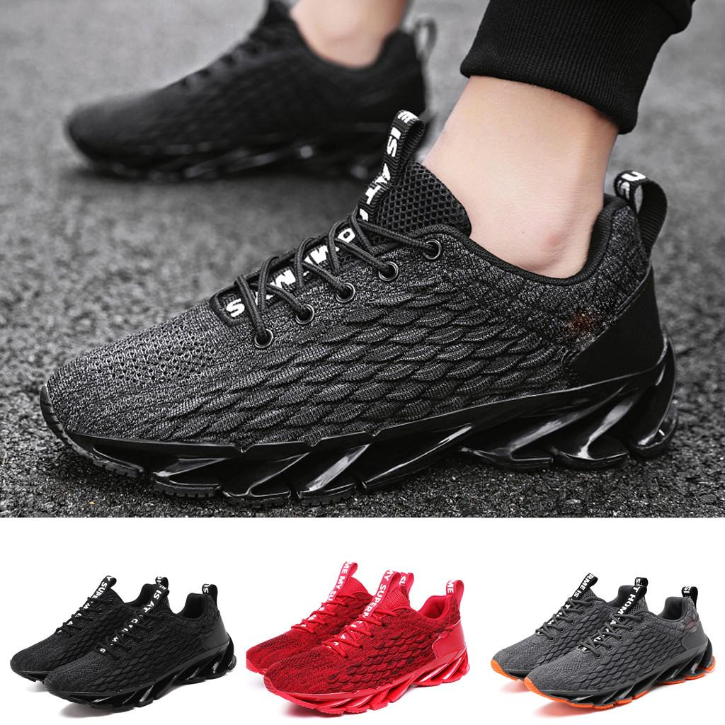 Men''s High Top Fitness Gym Sports Trainers Pull on Flat Shoes Plus Size UK 10.5