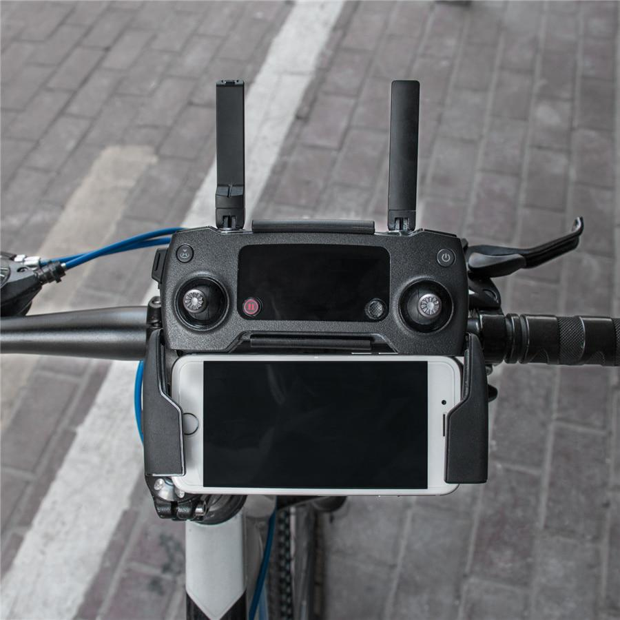 360° Rotation Adjustable Bike Handlebar Mount Holder Bracket For DJI Mavic Pro