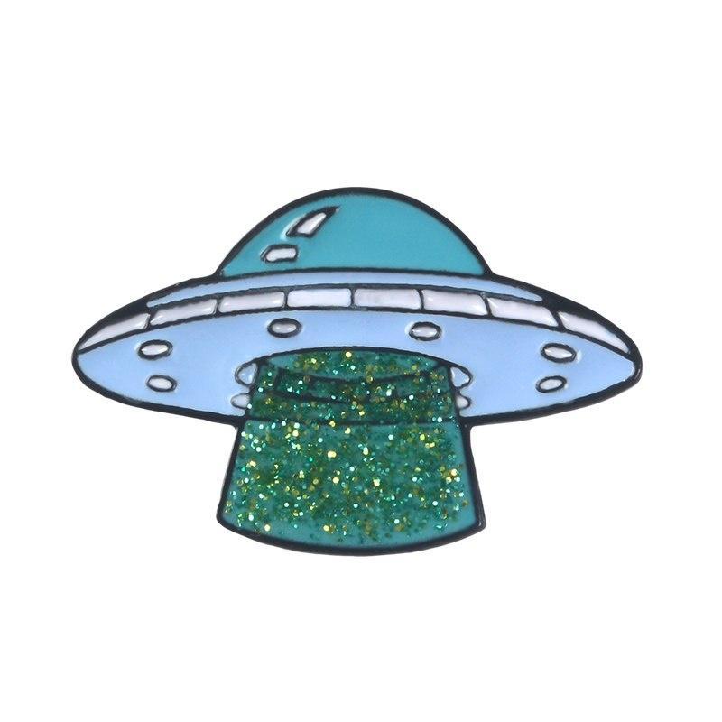 UFO Brooch  Pin