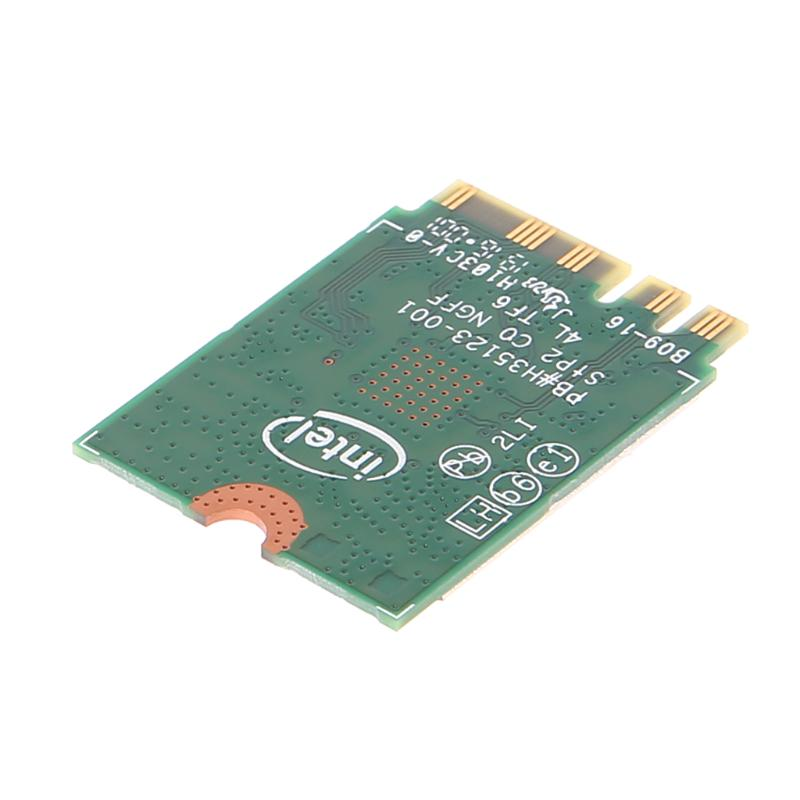 Bluetooth Intel Dual Band Wireless-AC 3165 BT4.0 2.4G//5G 433M NGFF NGW Net Card