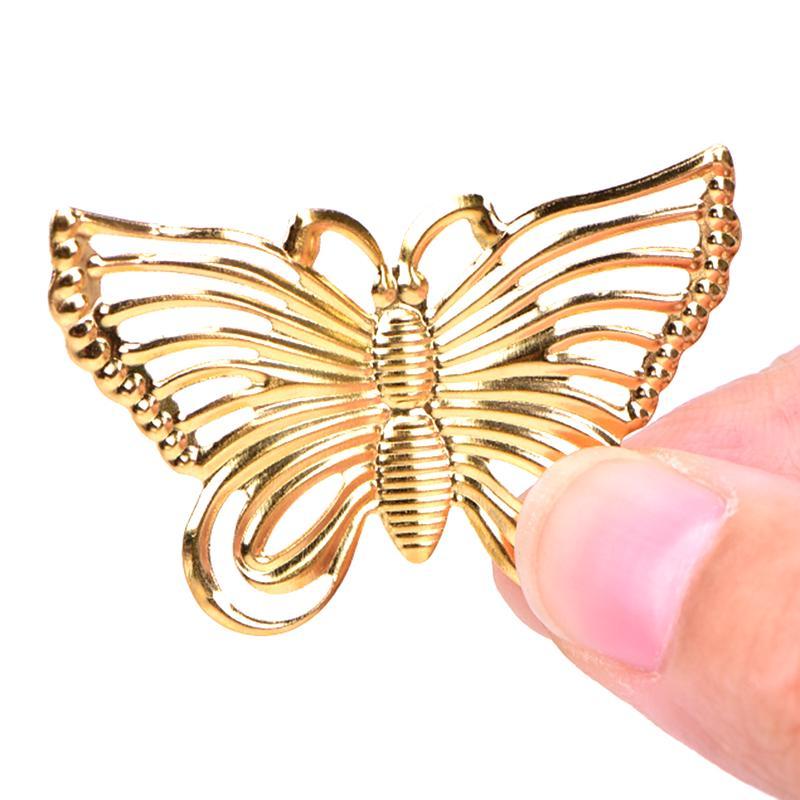 20x Antique Gold Tree Leaf Charms Filigree Pendants DIY Craft Jewelry Making