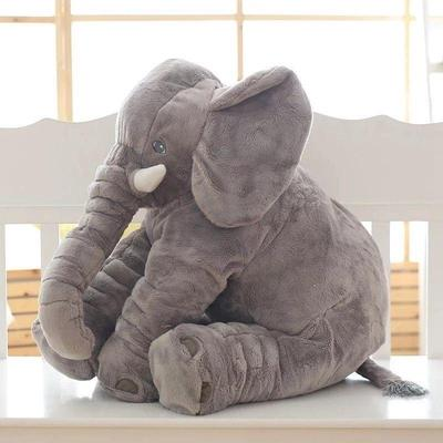 Cute Pillow Elephant Children Soft Plush Toy Doll Baby Kids Nose Cushion Gift