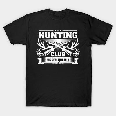 Hunting Season T-Shirt Wilderness club game hunters Vest Mens