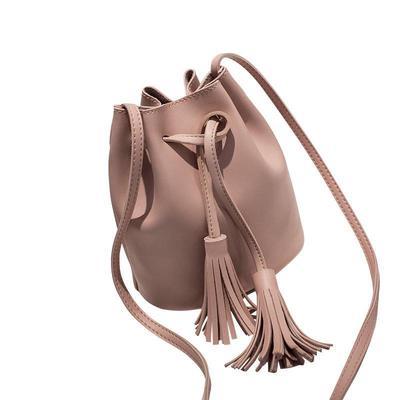 b08ef8d9dd216 Torebki na ramię z frędzlami dziewczęce torby ze skóry PU retro kobieta  torby crossbody jednolity kolor