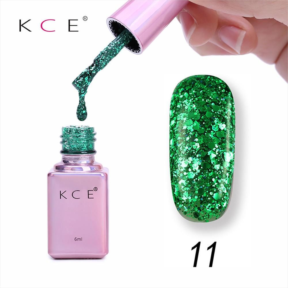 Nuevo Gel 6ml Diamond Glitter uñas uñas Gel uñas buena calidad de ...