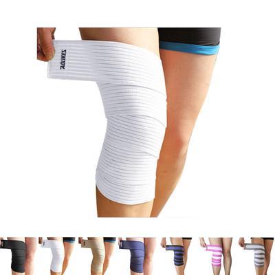 1pc Power Lifting Elastic Bandage Tape Leg Calf Knee Support Wraps