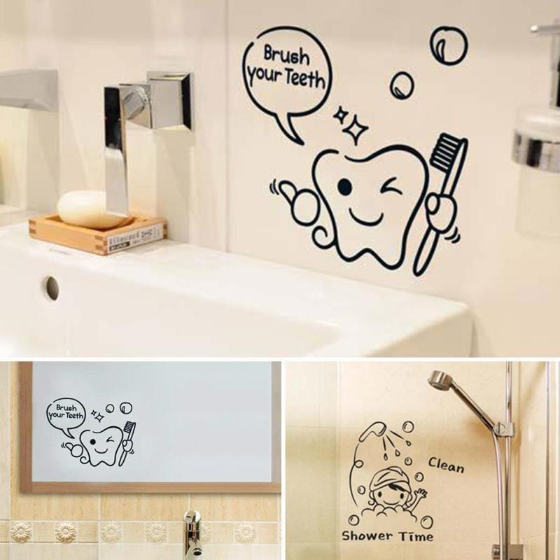 Diy Funny Bathroom Wall Sticker, Funny Bathroom Decals