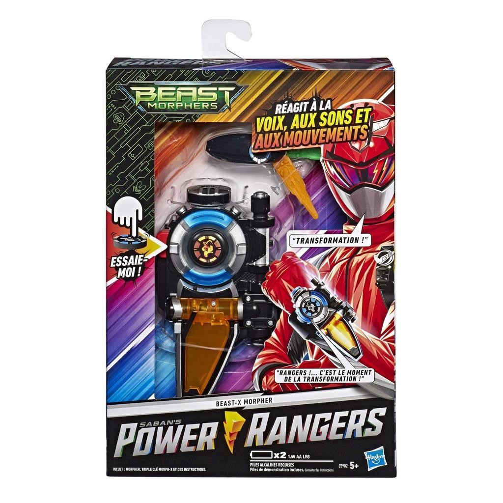 Morpher X Power Rangers Beast Morphers   Electronic Toy Power Rangers  Hasbro E18