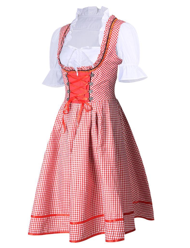 Las mujeres Sexy vestidos típicos sirviendo a moza bávara de la ...
