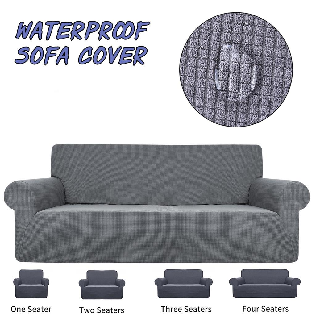 1 2 3 4 place extendable chair cover sofa elastic protection decor