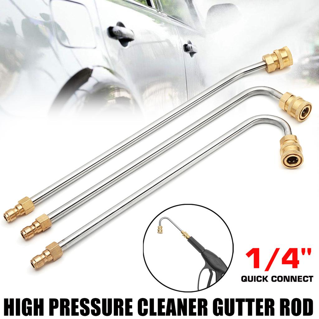 """Pressure Power Washer Gutter Cleaner Attachment Lance//Wand 1//4/"""" Quick Connect"""