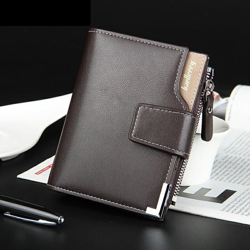 3ac11868155dd Krótki portfele PU marki mężczyzn skóra Dolar karty posiadacz monet ...