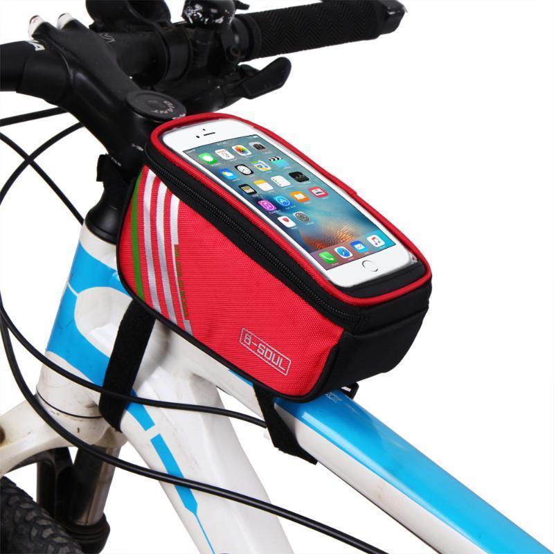 Frame Fahrradtasche Front Tube Tasche für Handy Fahrrad Radfahren ...