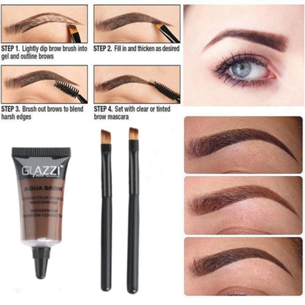 1pc Eyebrow Dye Cream Eyebrows Powder Natural Air Cushion Double Color Eyebrows Seal Waterproof Mascara Eye Makeup Cosmetics Eyebrow Enhancers Back To Search Resultsbeauty & Health