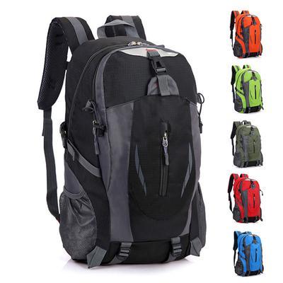 ca8c59cc75 High Quality Waterproof Nylon Backpack Men Women Mochila Bag Rucksack  Mountaineering Bag