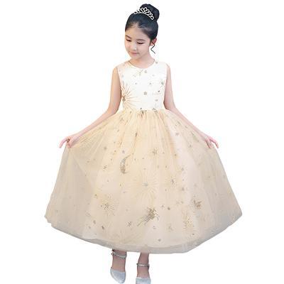 081fb3b531 Princess Dress Fashion Mesh Dress Dzieci suknia wieczorowa Bal wesele  sukienka
