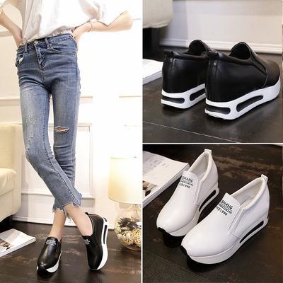0bc6f2d89f Sapatos casuais 1 par aumentado net moda de alta qualidade sapatos de  plataforma de verão