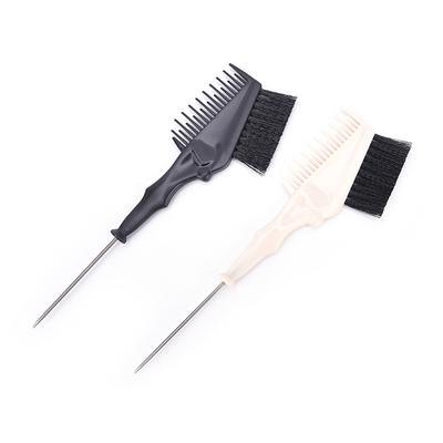 Pelo de la extremidad de cola del Metal 1pc para colorear peine ...