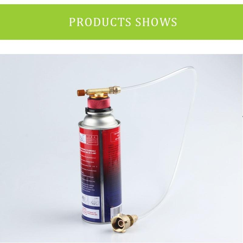 1pc Gas Propane Bottle Refill Tank Cylinder Coupler Adapter for Camping Cooking