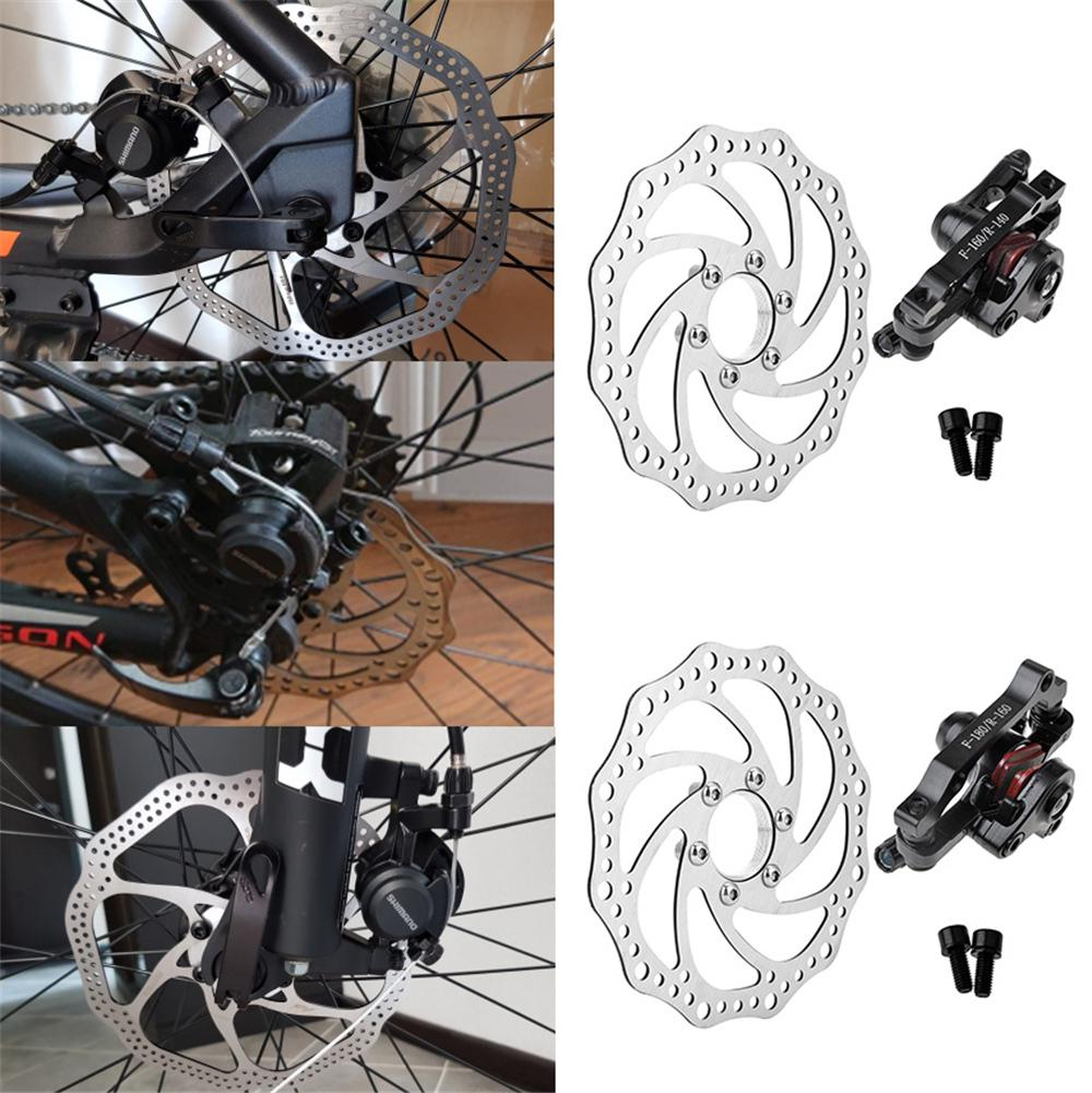 Front Rear Disc Brake MTB Bike Cycling Bicycle Mechanical Caliper Mechanical New