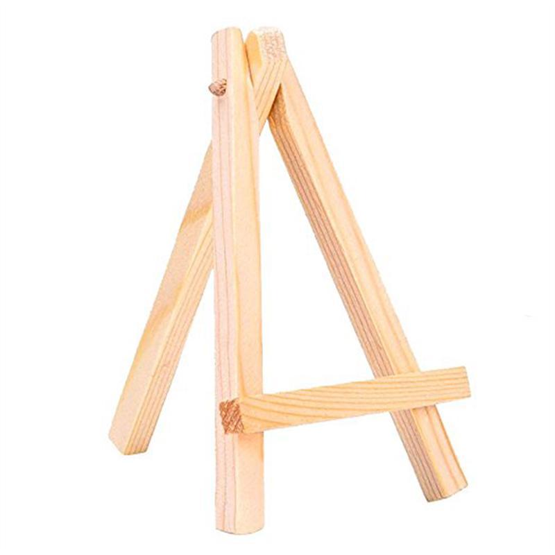 12pcs Mini pantalla madera caballetes 7 * 12cm madera caballete ...