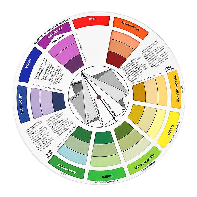 Color Wheel For Professional