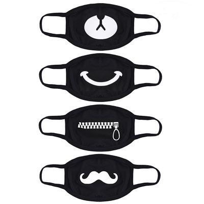 masque chirurgical noir coton