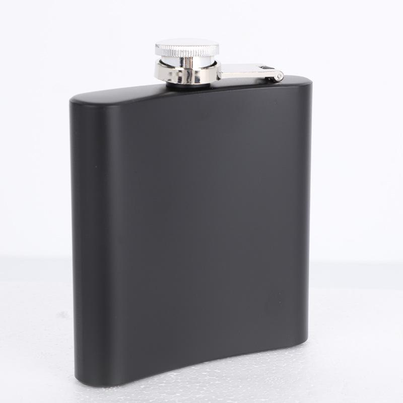 6oz POCKET SPIRITS BOTTLE WHISKEY VODKA STAINLESS STEEL HIP FLASK