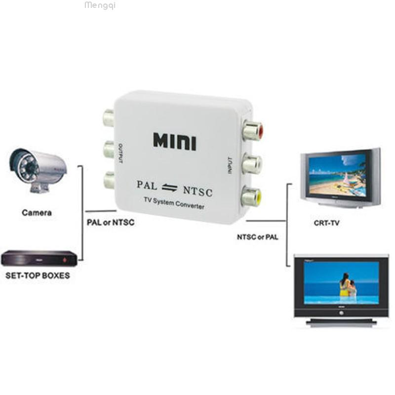 PAL NTSC Video TV System Converter With Automatic Gain Control