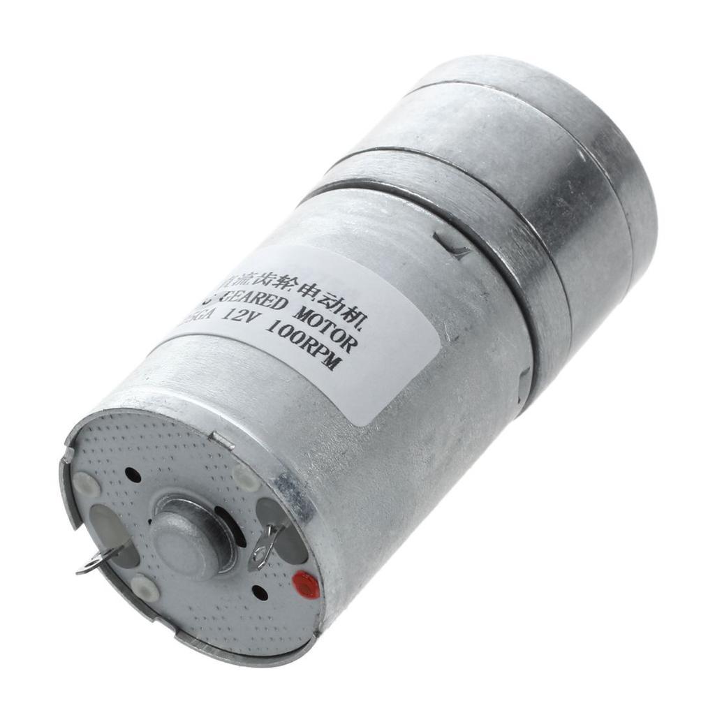 4mm Dia Shaft 25mm Gearbox DC12V 40-50mA 60RPM DC Gear Motor