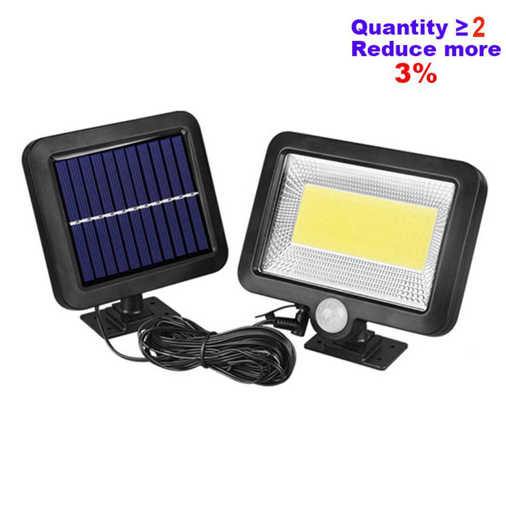8 Pcs Solar LED Lights Standing Panel Solar-Powered LED Lighs Landscape Lights