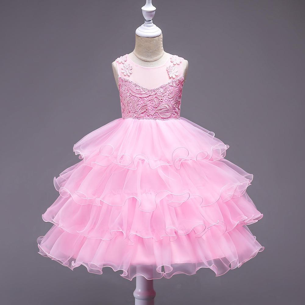 Ropa de niña velo faldas chico princesa fiesta vestidos niños ...
