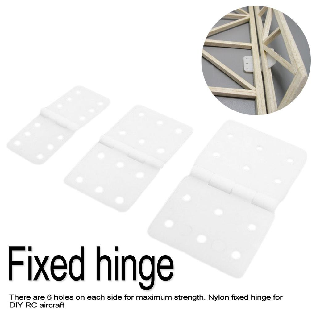 20pcs Lot Nylon Pinned Hinge 20x36mm 16x29mm 12x24mm For Rc Airplane Plane Parts Model Buy At A Low Prices On Joom E Commerce Platform