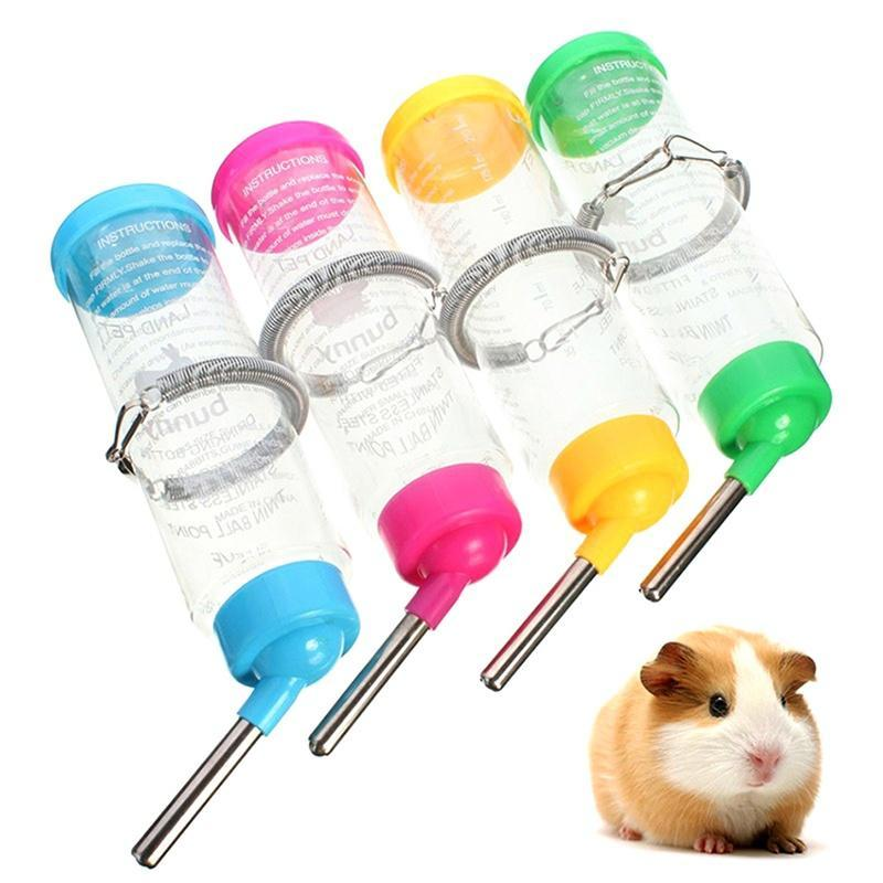 f6f747752576 Water drinking bottle 1pc 250ml water drinking feeder pet rat hamster  rabbit cylindrical cage bottle