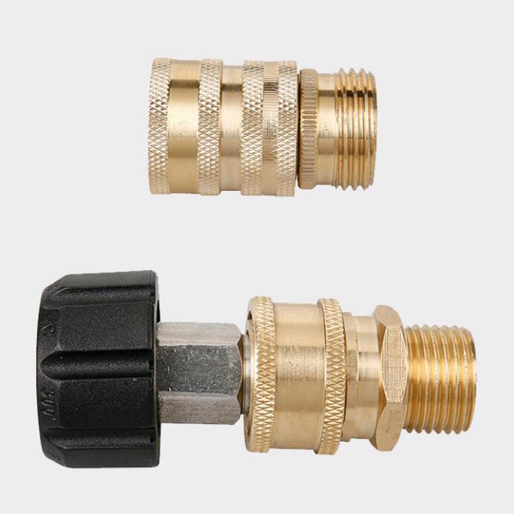 Acoplamiento giratorio Montaje M22 F Hembra X 3//8 M masculino Karcher manguera de agua a presión