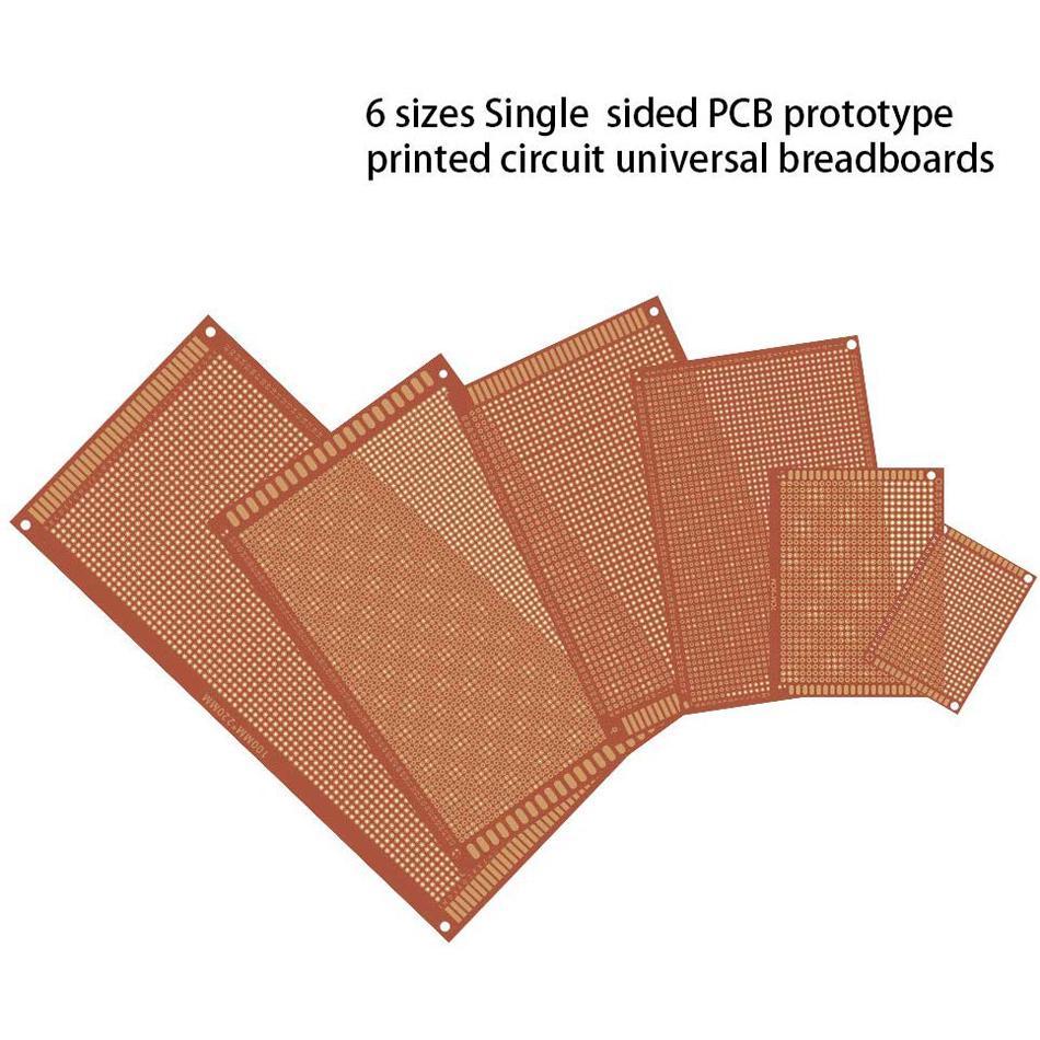 Big Single Side Prototype Protoboard PCB Bread Proto board Universal 12x18cm
