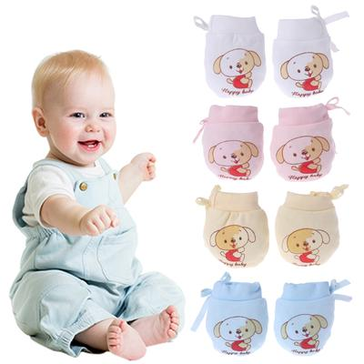 Practical Baby Anti-grasping Gloves Safety For Protection Face Baby Mittens