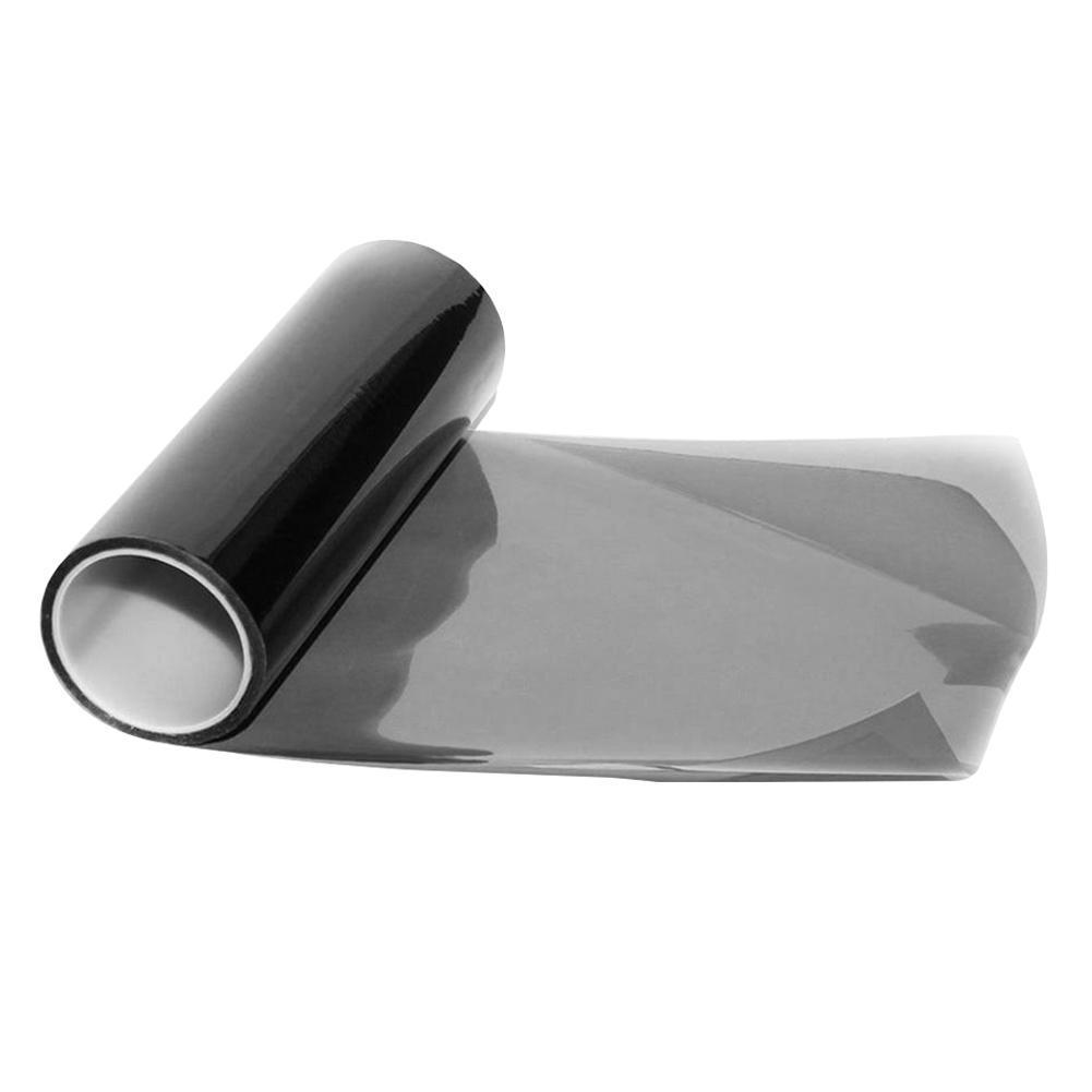 Light Smoke Black Tint Film Vinyl Sticker For Car Headlights//Taillights 30*150cm