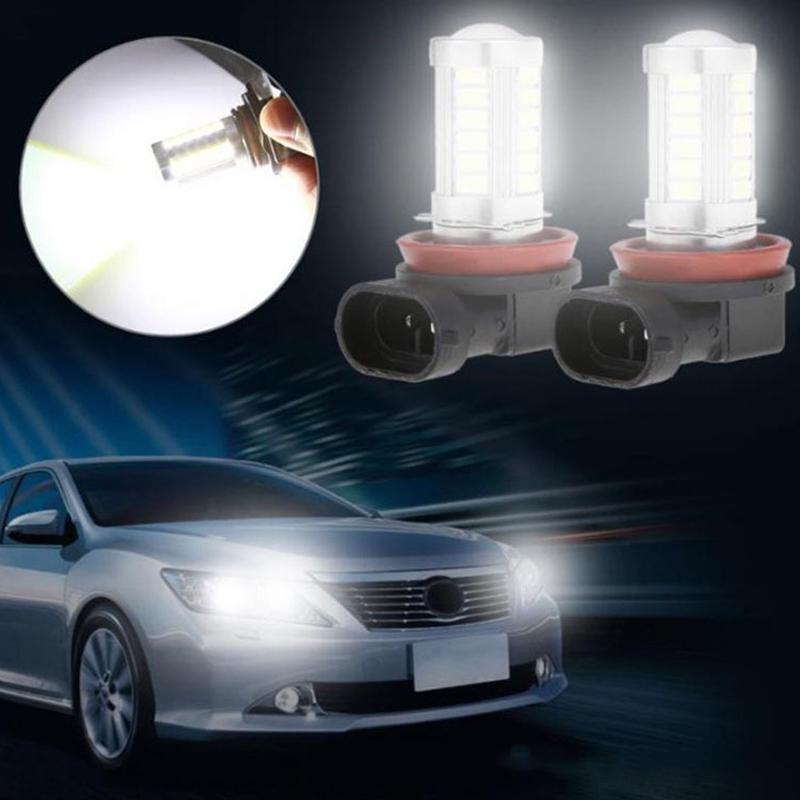 8pcs Автомобиль противотуманной лампы H4 H7 H8/H11 9005 9006 5630 33 лампы противотуманной фары выделить – купить по низким ценам в интернет-магазине Joom