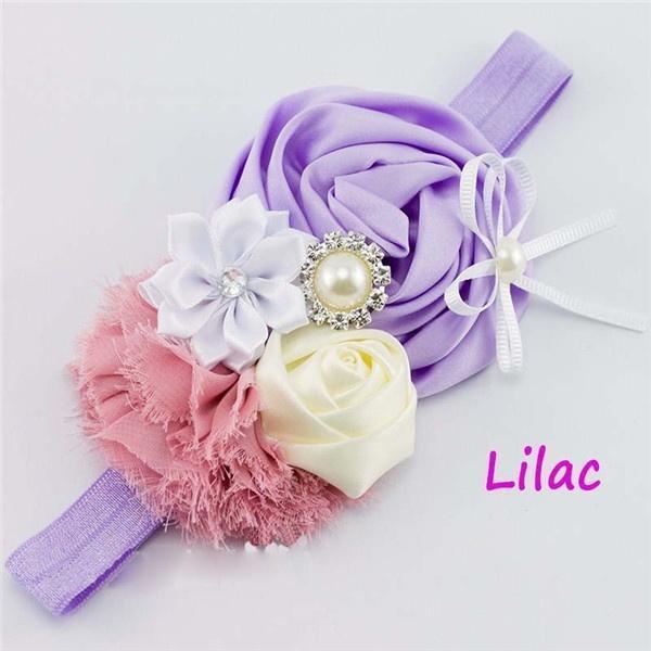 Bebé flor diadema cristal niños lindos pelo accesorios Navidad ...