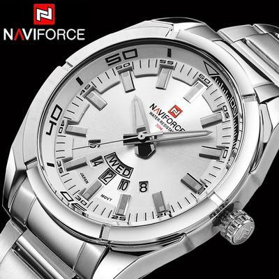 Men Watches Top Brand Luxury Business Big Male Wristwatch Full Steel Waterproof Wrist Watch Men