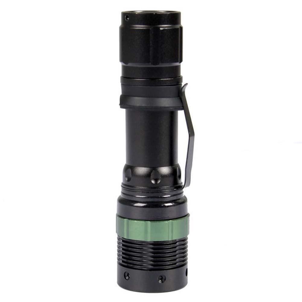 3000 Lumen Zoomable CREE XM-L Q5 LED Flashlight Torch Zoom Lamp Waterproof Light