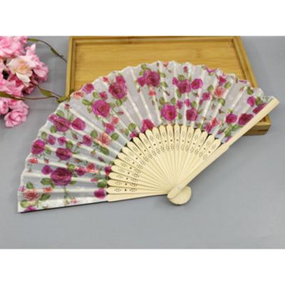 1pc Ivory Bridal Chinese Bamboo Silk Hands Fan Weddings Favors Guest Gifts Nice
