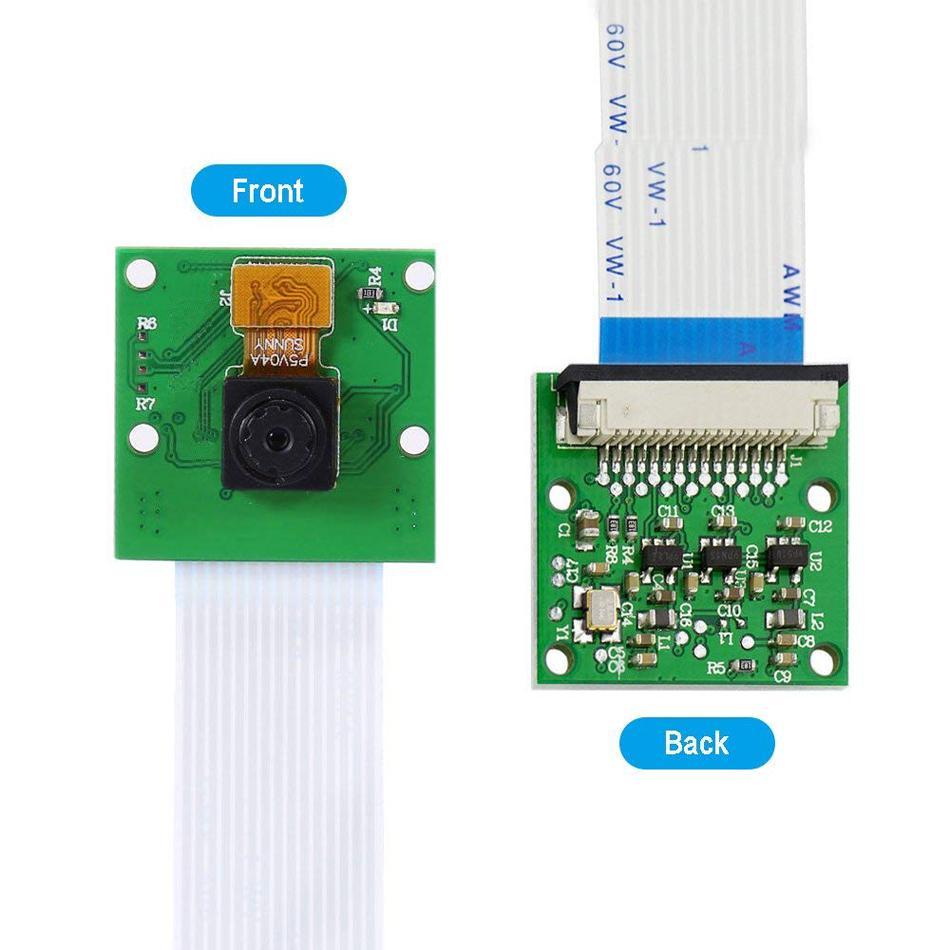 5MP Mini Camera OV5647 Sensor 1080p 720p video for Raspberry Pi official Board
